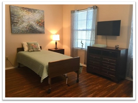Respite Room Now at Mountain Creek Retirement Living!
