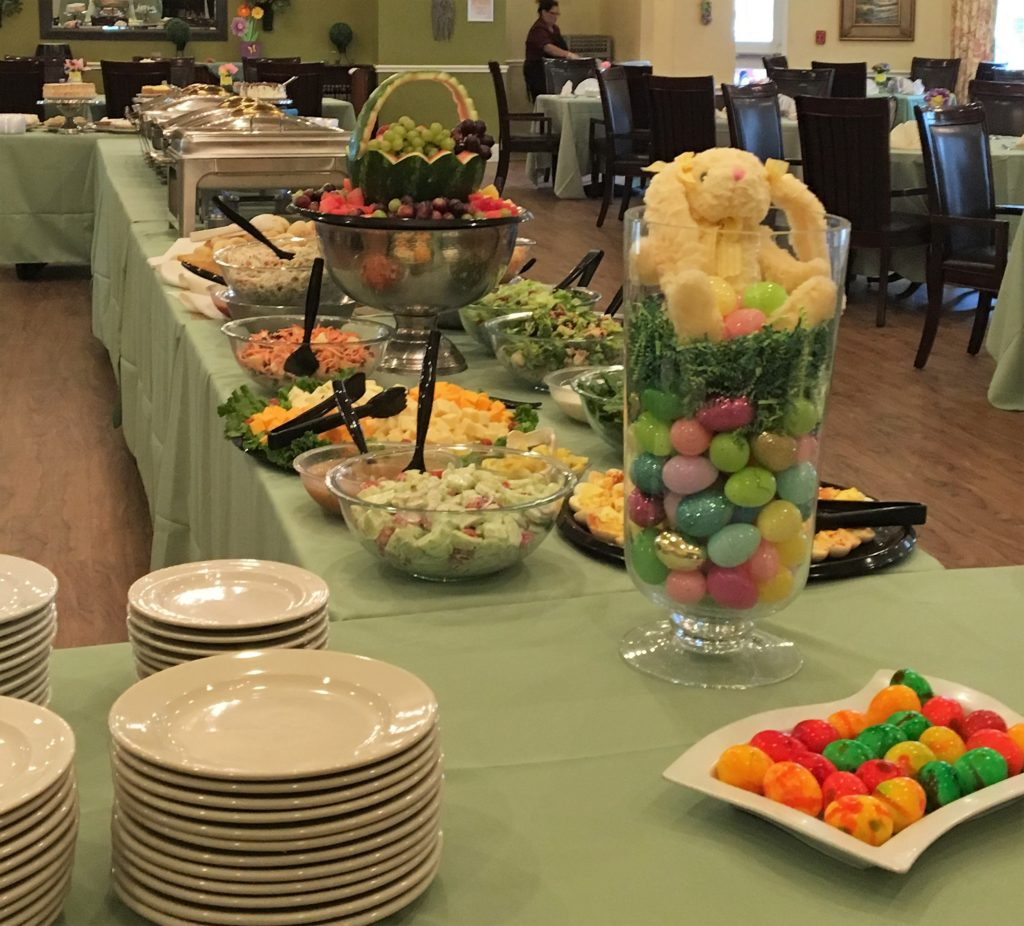 Easter Luncheon Was A HUGE Success Thanks To Chef Rosa And