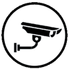 Security system icon graphic